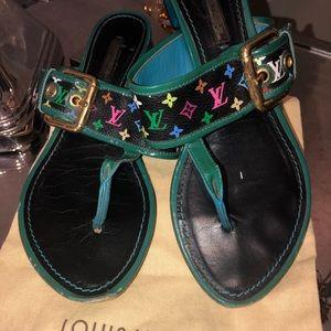 Authentic Louis Vuitton Sandal.